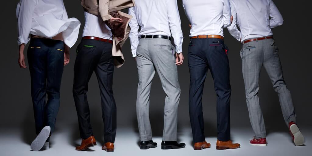 Параметры размеров мужских брюк